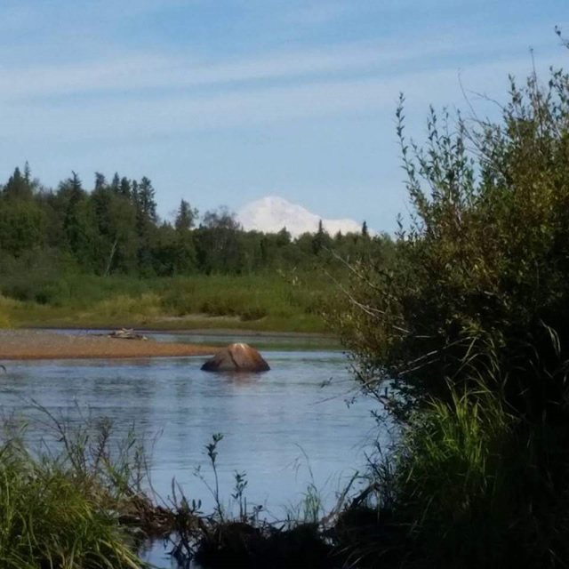 Deshka River, Denali and fishing at Deshka Wilderness Lodge, it just doesn't get any better then this!